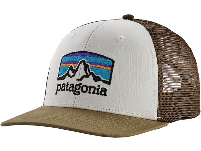 Patagonia Fitz Roy Horizons Trucker Cap white/sage khaki